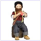 Lil Lumberjack Woodsman Toddler Costume
