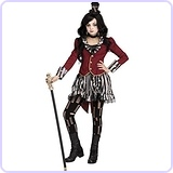 Freak Show Circus Ringmistress Kids Costume