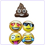 Emoji Masks (Set of 5)