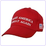 Adjustable Trump Hat Cotton Cap