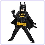 Batman LEGO Movie Deluxe Costume, Small (4-6)