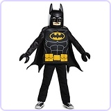 Batman LEGO Movie Classic Costume, Small (4-6)