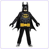 Batman LEGO Movie Classic Costume, Medium (7-8)