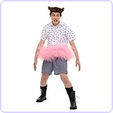 Men's Ace Ventura Tutu Costume