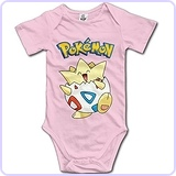Pokemon Go Togepi Baby Bodysuit Romper