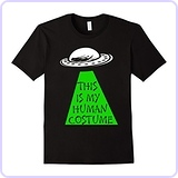 Men's UFO - Alien This is My Human Costume T-Shirt