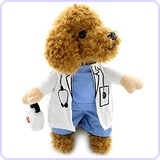 Doctor Suit Dog Halloween Costume