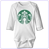 Starbucks Coffee Logo Baby Climb Clothes
