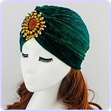 Twist Pleated Hair Wrap Stretch Turban
