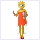 Kids Lisa Simpson Costume (M)