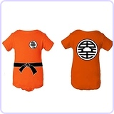 Baby Dragon Ball Z Goku Inspired Onesie (6 month)