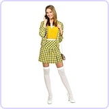 Clueless Cher Womens Costume, Large