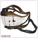 SpookyPup Dog Costume Muzzle with Large Teeth