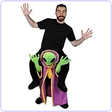 Pick Me Up Alien Fancy Dress UFO Costume