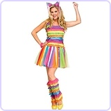 Party Pinata Dress Adult Costume