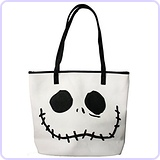 Jack And Sally Big Face 2 Sided Tote Bag