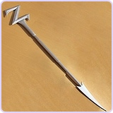 "70"" Power Rangers Lord Zedd's Wand PVC Replica"