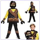 LEGO Ninjago Cole Costume, Medium (7-8)
