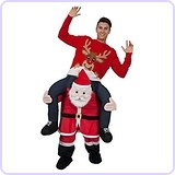 Carry Me Ride on Santa Claus Costume