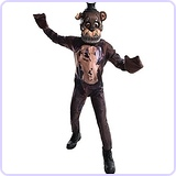 Boys Five Nights At Freddy's Nightmare Fazbear Costume