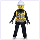 LEGO Firefighter Classic Costume, Small (4-6)