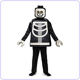 LEGO Skeleton Deluxe Costume, Medium (7-8)
