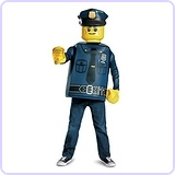 LEGO Police Officer Classic Costume, Large (10-12)