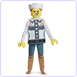 LEGO Cowgirl Deluxe Costume, Large (10-12)