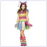 Rainbow Party Pinata Costume (Large 12/14)