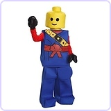 Kids Lego Toy Block Ninja Man Costume