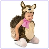 Nutty the Squirrel Costume, 12 to 18 Months