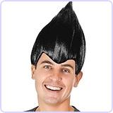 Black Troll Wig