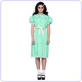 Women's Creepy Sister Costume Dress