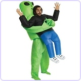 Alien Pick Me Up Inflatable Blow Up Costume