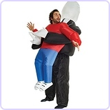 Slenderman Pick Me Up Inflatable Blow Up Costume