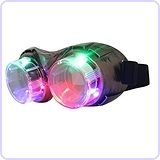 Retro Goggles Light Up Party Favors Glasses