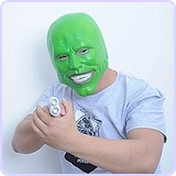 Jim Carrey - The Mask, Costume Latex Mask