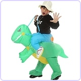 Inflatable Rider Costume Riding Me Dinosaur Costume