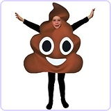 Poo Emoji Costume, Child