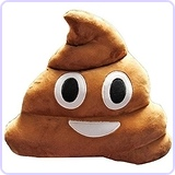 Emoji Poop Cushion Pillow