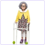 Toddler Old Granny Costume