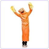Adult Wild Waving Tube Guy Costume
