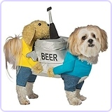 Dog Beer Keg Costume
