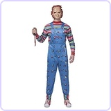 Chucky Adult Good Guys Killer Doll Costume, XL