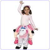 Carry Me Unicorn Toddler Costume, Large (3T-4T)