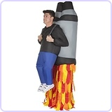 Jetpack Inflatable Costume