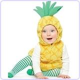 Pineapple Baby Halloween Costume (24m)