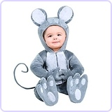 Baby Mouse Infant Costume 12/18mo