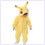 Pikachu Onesie Costume (ages 6-12 months)