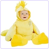 Peanuts Woodstock Deluxe Toddler Costume, 3-4T